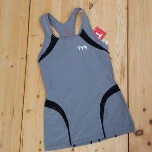 NWT TYR carbon series triathlon tank, sz small